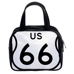 Route 66 Classic Handbag (two Sides) by abbeyz71