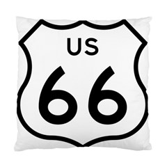Route 66 Standard Cushion Case (one Side) by abbeyz71