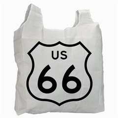 Route 66 Recycle Bag (two Side) by abbeyz71