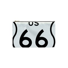 Route 66 Cosmetic Bag (small) by abbeyz71