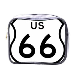 Route 66 Mini Toiletries Bag (one Side) by abbeyz71