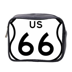 Route 66 Mini Toiletries Bag (two Sides) by abbeyz71