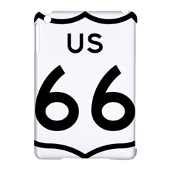 Route 66 Apple Ipad Mini Hardshell Case (compatible With Smart Cover)