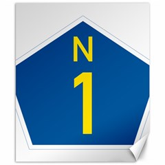 South Africa National Route N1 Marker Canvas 8  X 10  by abbeyz71
