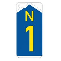South Africa National Route N1 Marker Apple Iphone 5 Seamless Case (white)