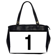 Tj¨?evegur 1 (route 1) Hringvegur (ring Road) Oversize Office Handbag (2 Sides) by abbeyz71