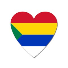 Druze Flag  Heart Magnet by abbeyz71