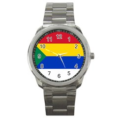 Druze Flag  Sport Metal Watch