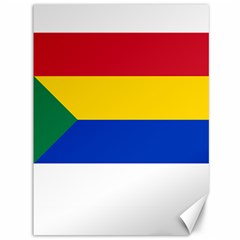 Druze Flag  Canvas 36  X 48