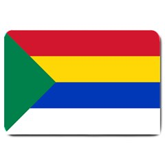Druze Flag  Large Doormat