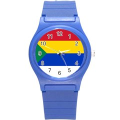 Druze Flag  Round Plastic Sport Watch (s)