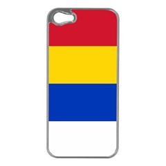 Druze Flag  Apple Iphone 5 Case (silver)