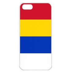 Druze Flag  Apple Iphone 5 Seamless Case (white) by abbeyz71