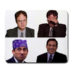 The Office Tv Show Large Mousepads by digitalartjunkie