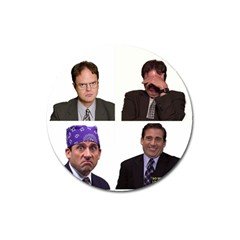 The Office Tv Show Magnet 3  (round) by digitalartjunkie