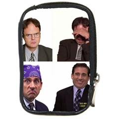 The Office Tv Show Compact Camera Leather Case by digitalartjunkie