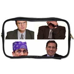 The Office Tv Show Toiletries Bag (one Side) by digitalartjunkie