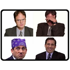The Office Tv Show Fleece Blanket (large)