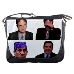 The Office Tv Show Messenger Bag by digitalartjunkie