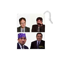 The Office Tv Show Drawstring Pouch (small) by digitalartjunkie