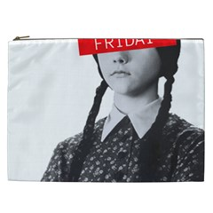 Friday, The Weekend Family Cosmetic Bag (xxl) by digitalartjunkie