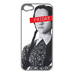 Friday, The Weekend Family Apple Iphone 5 Case (silver) by digitalartjunkie