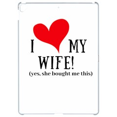 I Love My Wife Apple Ipad Pro 12 9   Hardshell Case by digitalartjunkie