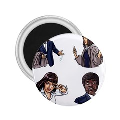 Pulp Fiction 2 25  Magnets by digitalartjunkie