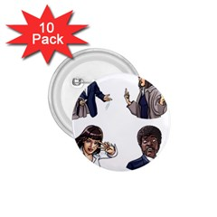 Pulp Fiction 1 75  Buttons (10 Pack) by digitalartjunkie