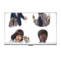 Pulp Fiction Business Card Holder by digitalartjunkie