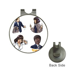 Pulp Fiction Hat Clips With Golf Markers by digitalartjunkie