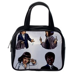 Pulp Fiction Classic Handbag (one Side) by digitalartjunkie