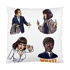 Pulp Fiction Standard Cushion Case (two Sides) by digitalartjunkie