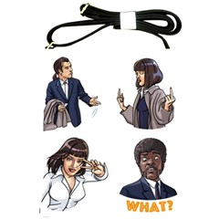 Pulp Fiction Shoulder Sling Bag by digitalartjunkie