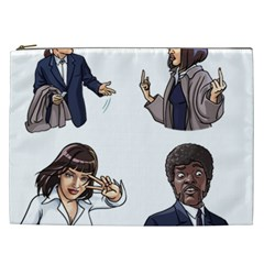 Pulp Fiction Cosmetic Bag (xxl) by digitalartjunkie