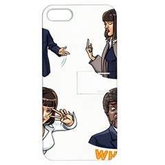 Pulp Fiction Apple Iphone 5 Hardshell Case With Stand by digitalartjunkie
