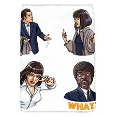 Pulp Fiction Removable Flap Cover (l) by digitalartjunkie