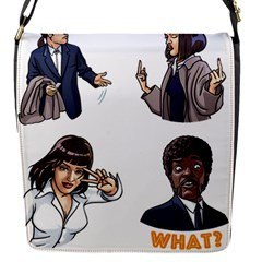 Pulp Fiction Removable Flap Cover (s) by digitalartjunkie
