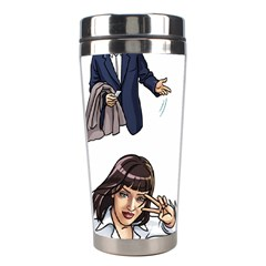 Pulp Fiction Stainless Steel Travel Tumblers by digitalartjunkie