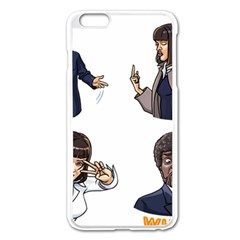 Pulp Fiction Apple Iphone 6 Plus/6s Plus Enamel White Case by digitalartjunkie
