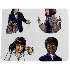 Pulp Fiction Jigsaw Puzzle Photo Stand (rectangular) by digitalartjunkie