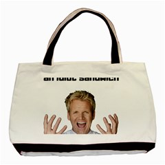 Gordon Ramsay Basic Tote Bag by digitalartjunkie
