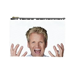 Gordon Ramsay Cosmetic Bag (large) by digitalartjunkie