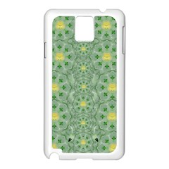 Summer Fantasy Apple Bloom In Seasonal Nature Samsung Galaxy Note 3 N9005 Case (white) by pepitasart