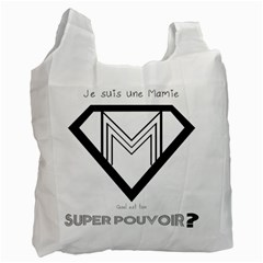 Super Mamie Super M Recycle Bag (one Side) by alllovelyideas