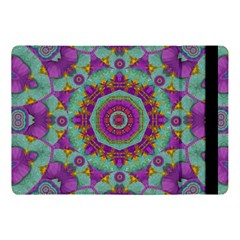 Water Garden Lotus Blossoms In Sacred Style Apple Ipad Pro 10 5   Flip Case by pepitasart