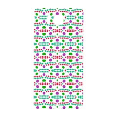 Retro Purple Green Pink Pattern Samsung Galaxy Alpha Hardshell Back Case by BrightVibesDesign