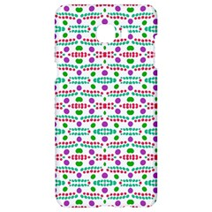 Retro Purple Green Pink Pattern Samsung C9 Pro Hardshell Case  by BrightVibesDesign
