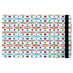 Retro Pink Green Blue Orange Dots Pattern Ipad Mini 4 by BrightVibesDesign