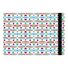 Retro Pink Green Blue Orange Dots Pattern Apple Ipad 9 7 by BrightVibesDesign